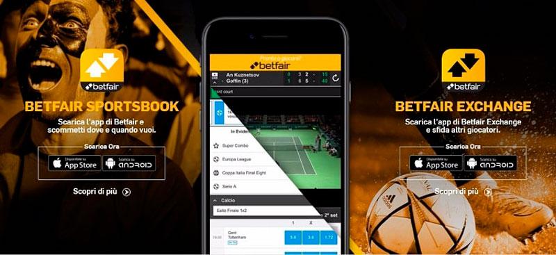 Promozioni da non perdere da Betfair mobile